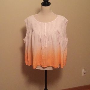 Brand new pink and orange top by Free People